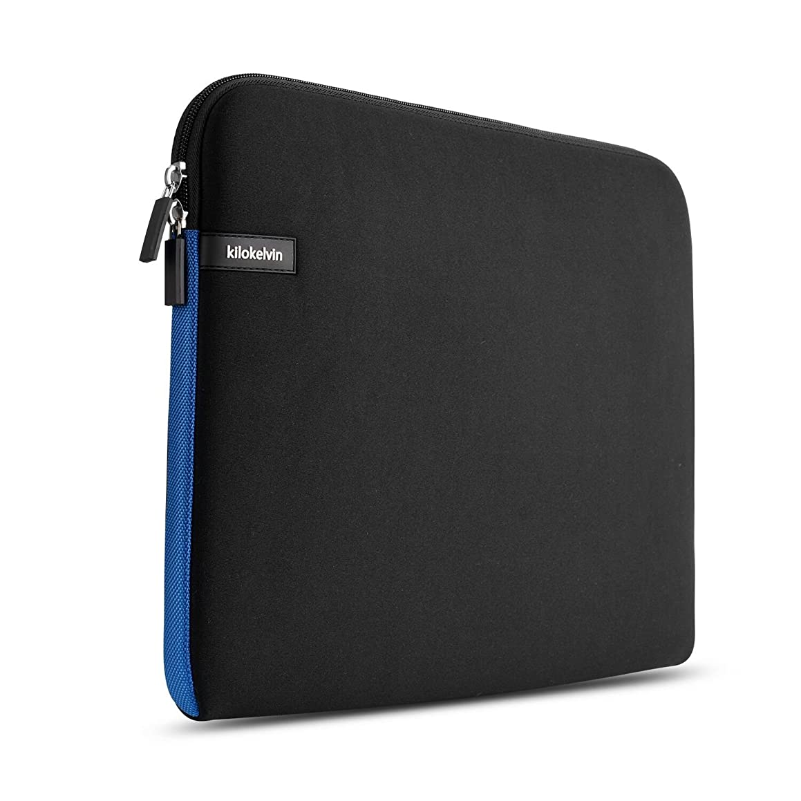 Kilokelvin 14.1 Inch Water Repellent Laptop Sleeve Case Notebook for Asus/Dell/HP/Lenovo Black Blue