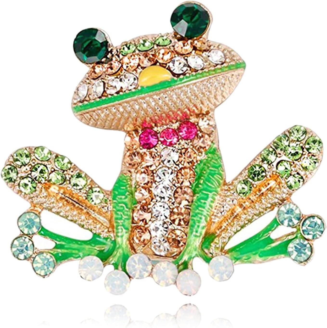 Xiaosong - Cartoon Free shipping / New Frog Sales results No. 1 Shaped Fas Brooch Electroplating Process