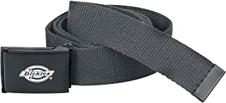 Dickies Cintura di Tela Eleganti Nero Regolabile Lavoro Mens Be500