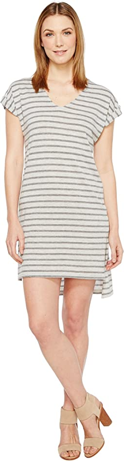 Eco Jersey Yarn Dye Stripe Escapade Dress