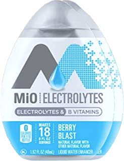 Mio Electrolytes Berry Blast B Vitamins Liquid Water Enhancer 1.62 fl oz (2)