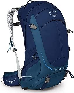 Osprey Packs Stratos 34L Backpack Eclipse Blue, M/L
