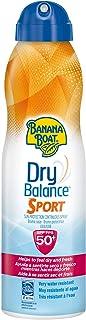 Banana Boat Dry Balance Sport SPF50 - Crema solar hidratante para deportistas en Spray solar 220ml