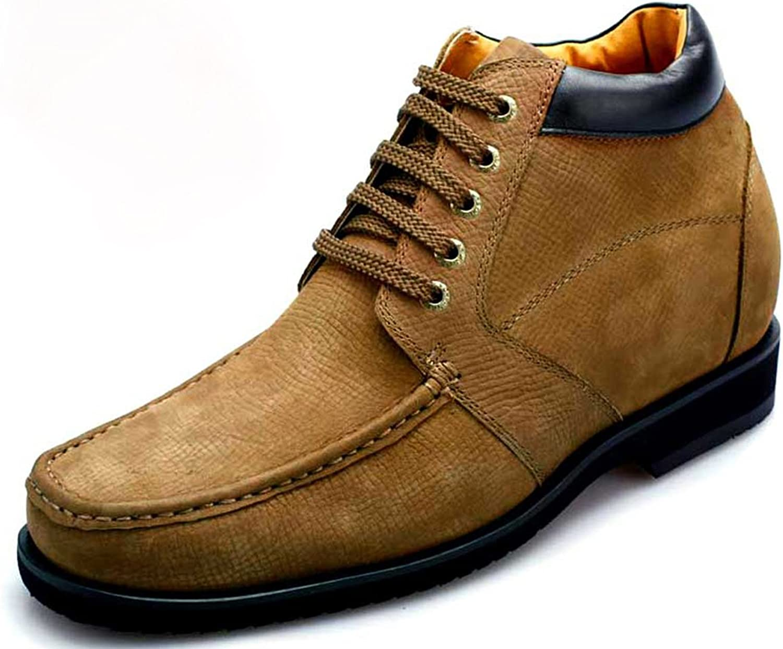 CHAMARIPA -höjd Ökning av John skor herr Casual stövlar Elevator skor 3.54 '– Taller V1931