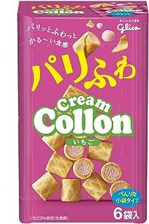 江崎グリコ クリームコロン(いちご) 6袋×5個