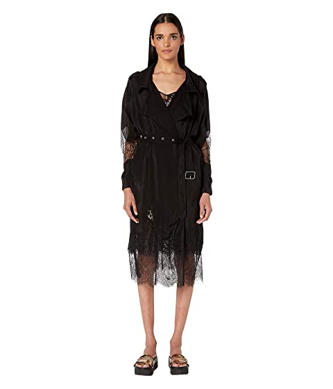 McQ Lace Eat in Trench