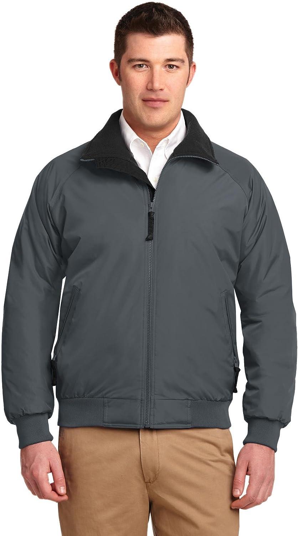 Port Authority Men's Challenger Jacket 3XL Steel Grey/True Black