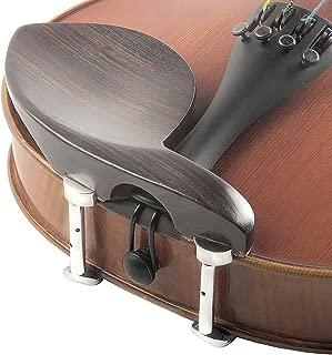 Guarneri 3/4 - 4/4 Violin Chinrest - Rosewood with Hill Bracket