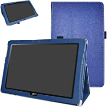 """Acer Iconia One 10 B3-A40 Case,Mama Mouth PU Leather Folio 2-Folding Stand Cover with Stylus Holder for 10.1"""" Acer Iconia ..."""