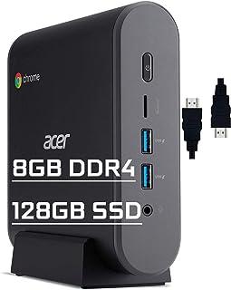 Acer Chromebox CXI3 Premium Mini Desktop Computer Intel Celeron 3867U Processors 8GB DDR4 128GB SSD Intel HD Graphics 610 ...