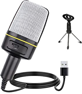 Multipurpose Condenser Microphones USB - Recording Microphone for Games and Singing - Podcast Microphone for Vocal - PC mi...