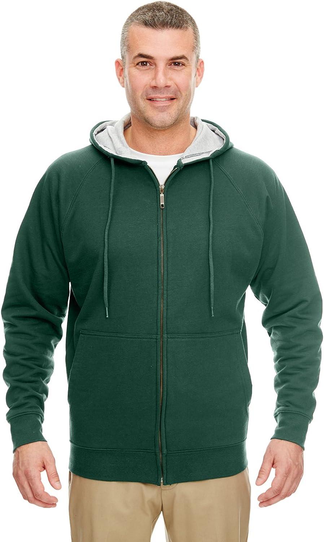 UltraClub Adult Thermal-Lined Hooded Fleece Full-Zip Portland Max 81% OFF Mall