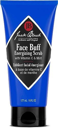 Jack Black Face Buff Energizing Scrub, 6 Fl Oz