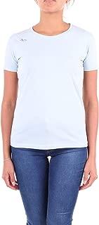ALYX Luxury Fashion Womens AAWTS0004A121 Light Blue T-Shirt | Season Outlet