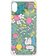 Kate Spade New York - Jeweled Garden Posy Phone Case For iPhone XS Max