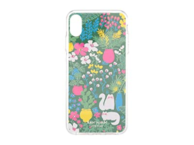 Kate Spade New York Jeweled Garden Posy Phone Case For iPhone XS Max (Green Multi) Cell Phone Case