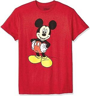 Disney mens Mickey Mouse Funny Graphic Classic Disneyland T-Shirt T-Shirt