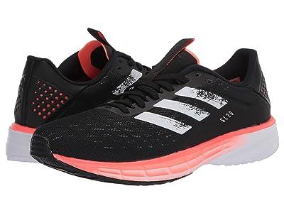 adidas Running SL20 (Core Black/Footwear White/Signal Coral) Men