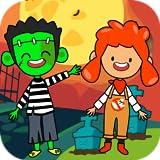 My Pretend Halloween - Trick or Treat Haunted Town & Kids Best Friends Halloween Games