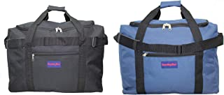 Boardingblue Frontier & Spirit Airlines 2 PCS Personal Item Under Seat Bag. 2Day Shipping (1Black +1 NAvy)