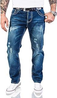 Rock Creek men's designer jeans trousers, thick seams, vintage RC-2056