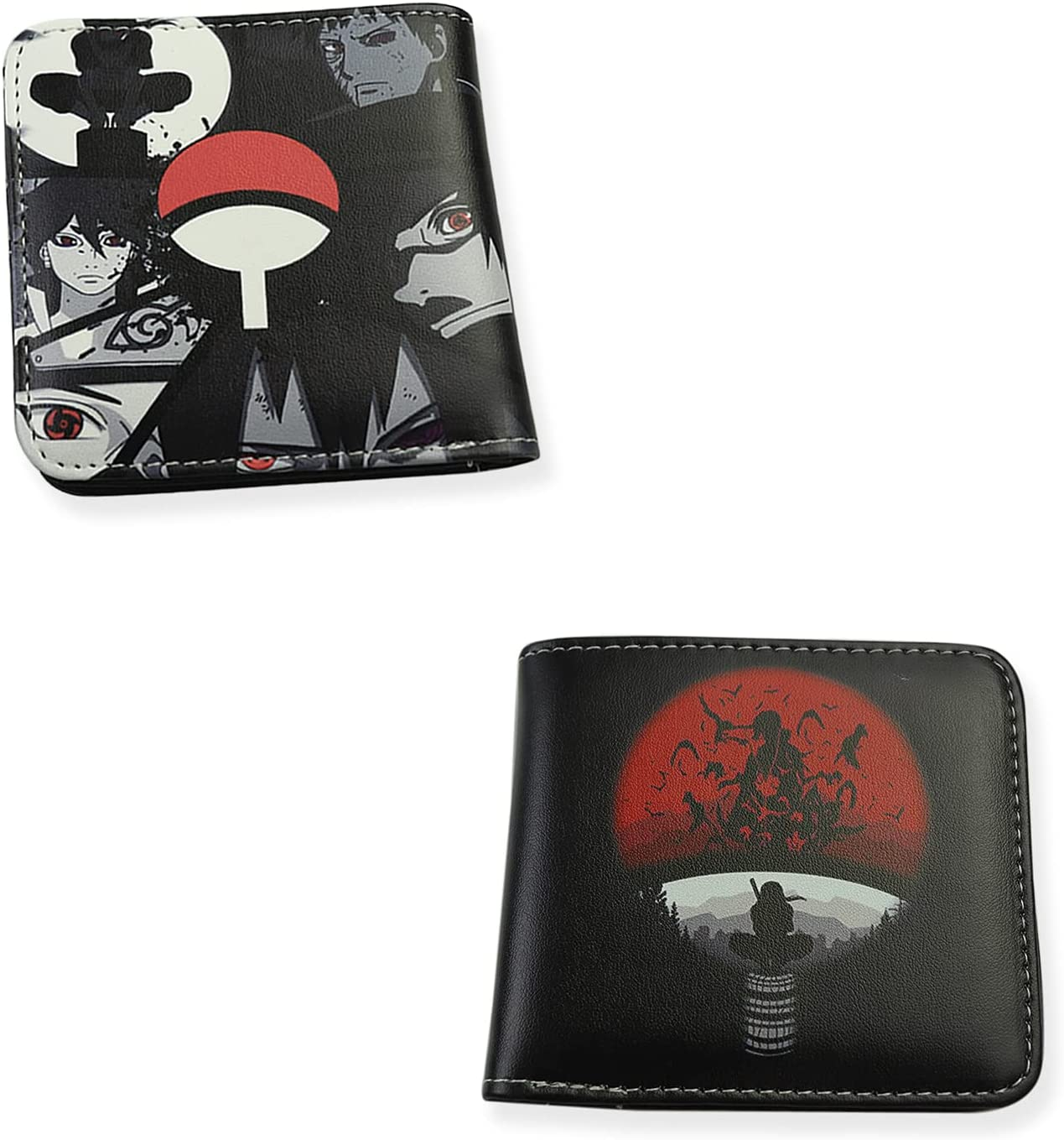 Anime Wallet Anime Bifold Leather Card Holder Purse Multi Color Birthday Gift