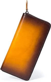 (ポヨリー) POYOLEE 財布 メンズ 長財布 本革 ラウンドファスナー 大容量 人気 金運