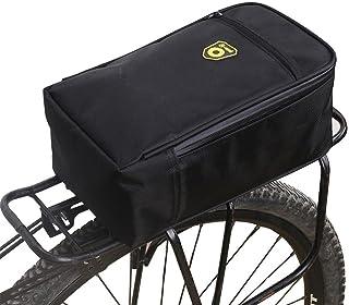 Fancylande - Borsa per bicicletta, tappetino per bagagliaio, borsa posteriore, multifunzione, per auto elettrica e bicicletta