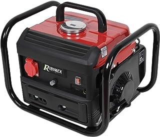 Ribimex PRGE0800 Generador Pocket 2 tiempos 800 W, rojo y negro