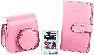 Fujifilm 70100138066 - Kit de Accesorios para Instax Mini 9 (Funda Desmontable con Cierre magnético álbum 108 Fotos Marco de metacrilato) Color Rosa Flamenco
