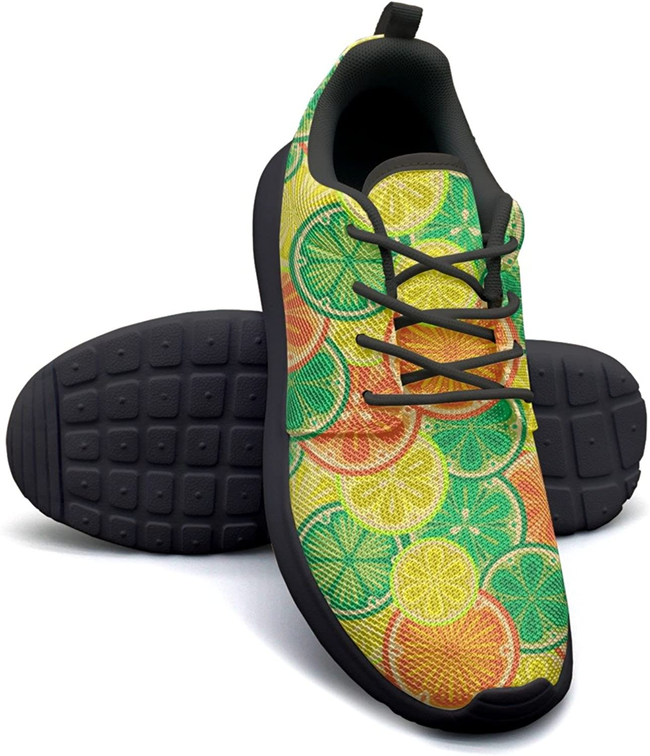 ERSER oranges and Lemons Mesh Running shoes Women