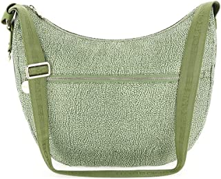Luxury Fashion | Borbonese Womens 934415X96W81 Green Shoulder Bag |