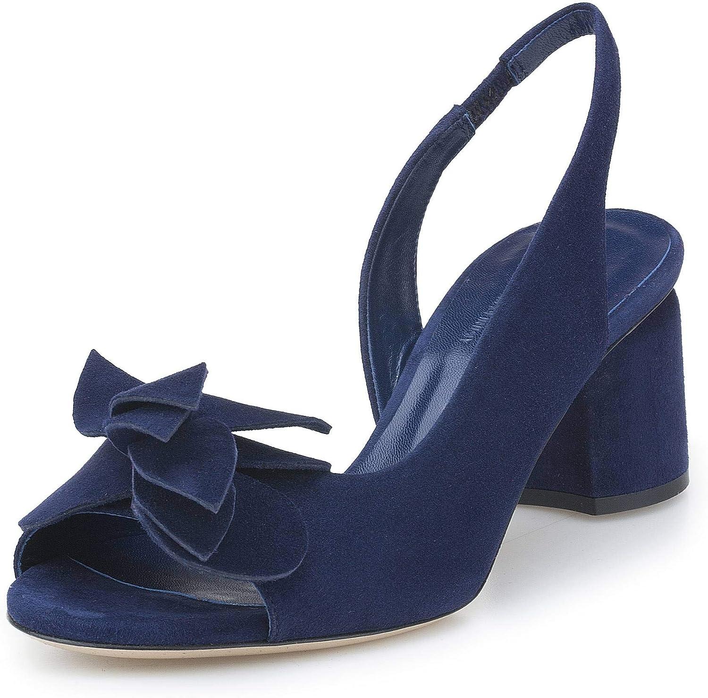 LORBAC , Damen Damen Damen Pumps Blau dunkelblau  b7549c