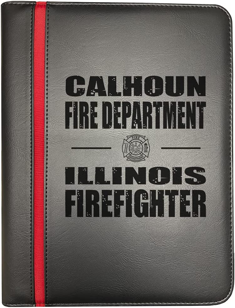 Calhoun Illinois Fire Departments Firefighter Thin 40% OFF Cheap Sale Red Line Lowest price challenge
