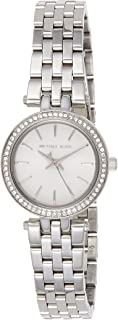 Michael Kors Petite Darci Silver Dial Stainless Steel Watch - MK3294