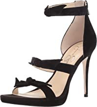 Jessica Simpson Women's Kaycie Heeled Sandal,Black,9.5 M US