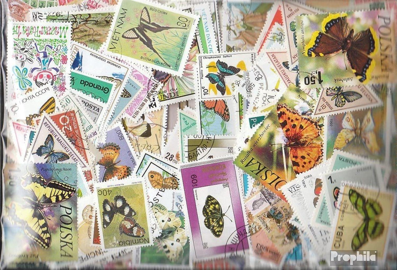 diseños exclusivos Prophila Prophila Prophila Collection Motivos 1.000 Diferentes Mariposas Sellos (Sellos para los coleccionistas) Mariposas  Mejor precio