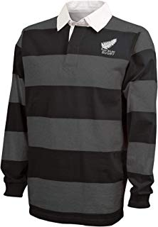 New Zealand Hooped Rugby Shirt