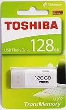 Toshiba USB2.0 Flash Drive 128GB USB 2.0 128G Flash Disk TransMemory U202 Hayabusa USB Memory Stick White (THN-U202W1280A4)