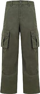 Tokyo Laundry Men's Marshland Multi-Pocket Cotton Twill Cargo Trousers