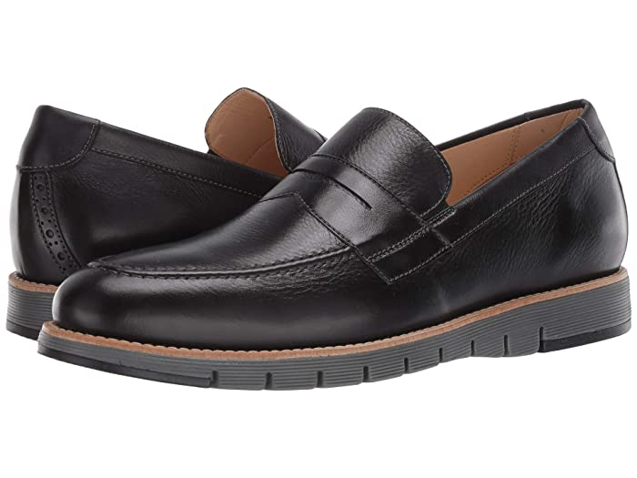 JandM EST. 1850  Martell Penny (Black) Mens Shoes