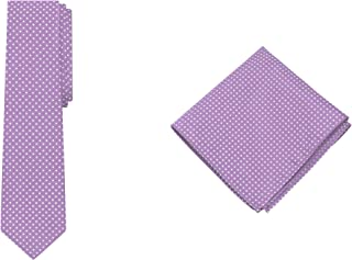 Jacob Alexander Polka Dot Print Boys Regular Tie Pocket Square Set