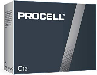 DURACELL C12 PROCELL bateria alcalina profissional, 12 unidades