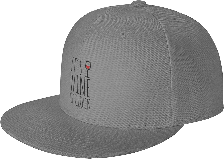 Wine O'Clock2 Mr Women's Reservation Clothing Baseball with Mo Very popular Brim Flat Cap