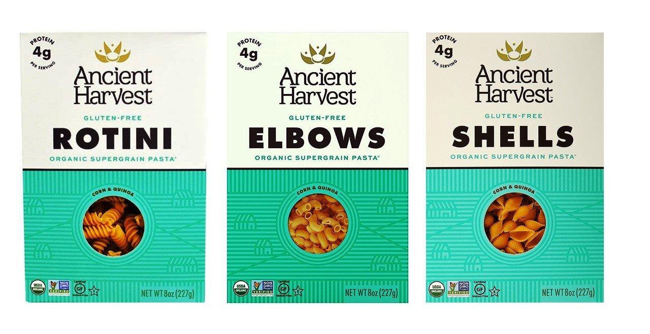 Ancient Harvest Gluten-Free Supergrain Corn Quinoa Max 61% OFF OFFicial mail order Pasta 3 Shape