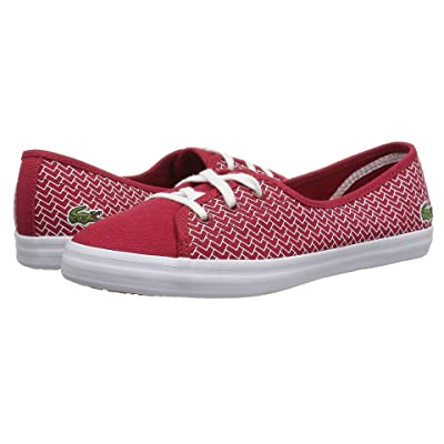 Lacoste Ziane Chunky 318 3 (Red/White) Women