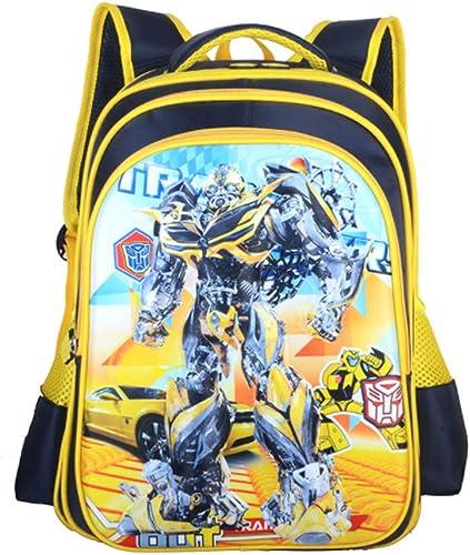 sac à dos Sac à Dos Imprimé Transformers imperméable Sac à Dos Scolaire Sac à Dos pour Garçons Et Filles pour Enfants Sacs D'école 3-12 Ans Transformers-L(42  30  20CM)