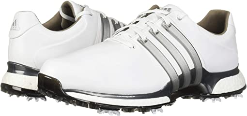 Footwear White/Silver Metallic/Dark Silver Metallic