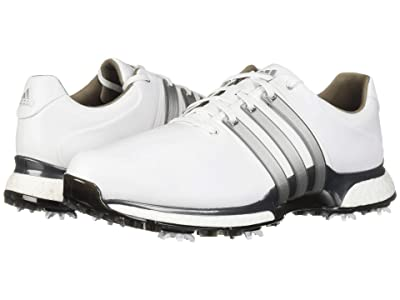 adidas Golf Tour360 XT (Footwear White/Silver Metallic/Dark Silver Metallic) Men