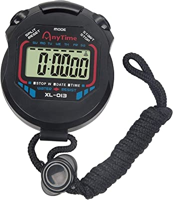 Instakart Digital Handheld Multi-Function Professional Electronic Chronograph Sports Stopwatch Timer Stop Watch (XL-013)
